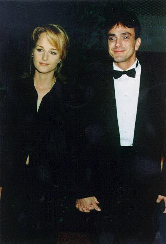With Helen Hunt