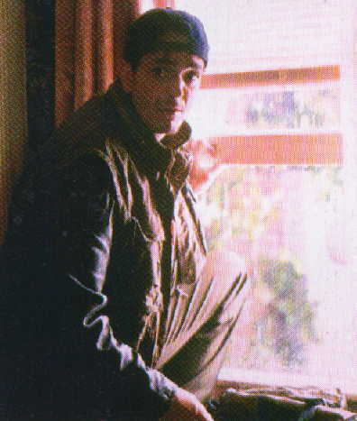 "Larger version of him about to climb out the window.  From the official ""Godzilla"" magazine"