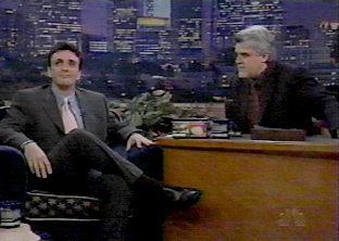 Hank and Jay Leno