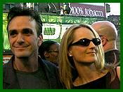 With Helen Hunt at Godzilla premiere